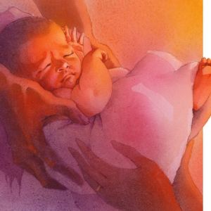 Naomi's Gift - Baby Girl by Scott Freeman