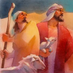 Naomi's Gift - Shepherds by Scott Freeman