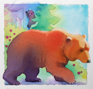 Books for kids-Bear Island
