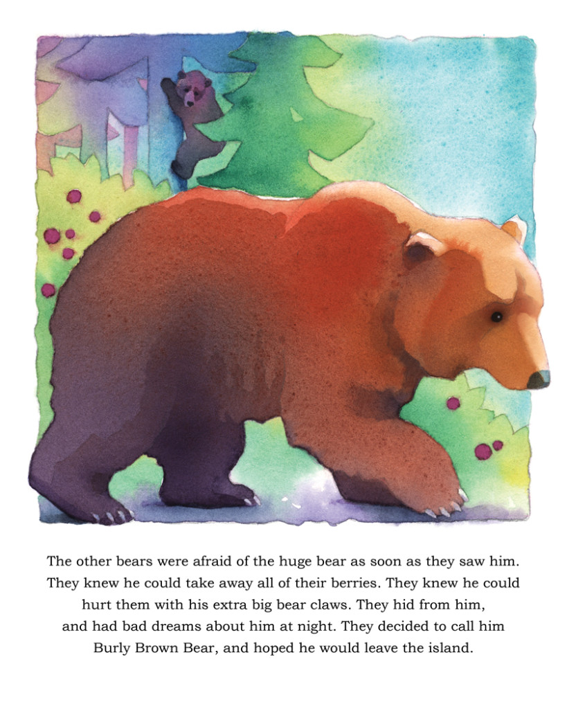 Books for kids-Bear Island