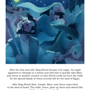 Illustration from The True Story of Christmas by Scott Freeman