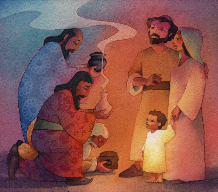 Bible storybook-The Wise Men