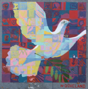 dove peace community art project