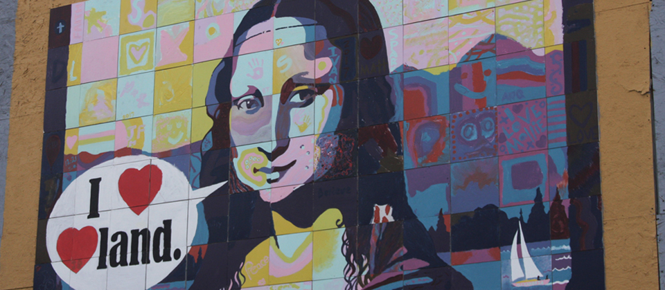 public art Scott Freeman Mona Lisa