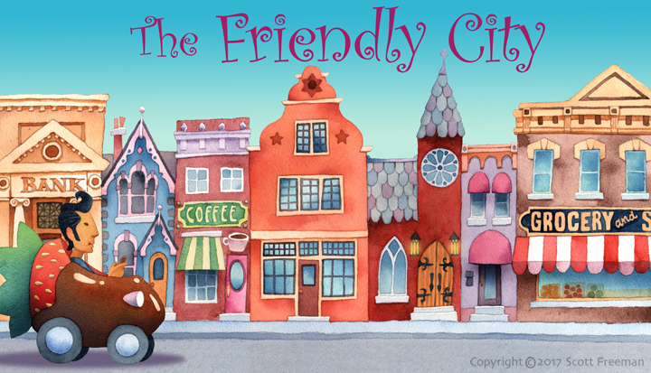 New Burbia-the Friendly City